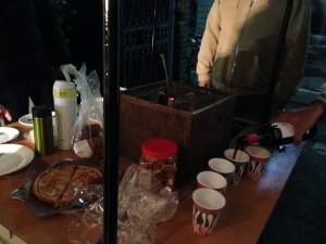 火鉢居酒屋